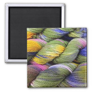 ColourSpun: Natural, Hand-Dyed Yarn 2 Inch Square Magnet
