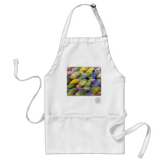 ColourSpun: Natural, Hand-Dyed Yarn Adult Apron
