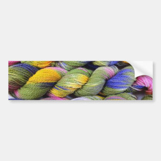 ColourSpun: Natural, Hand-Dyed Yarn Bumper Sticker