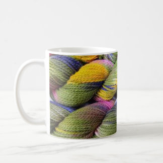 ColourSpun: Natural, Hand-Dyed Yarn Coffee Mug