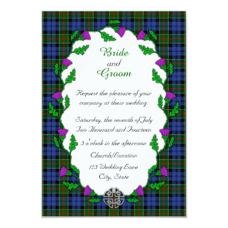 Colquhoun Celtic Wedding Card
