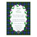 Colquhoun Celtic Wedding Personalized Invite