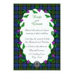 Colquhoun Celtic Wedding Personalized Invites