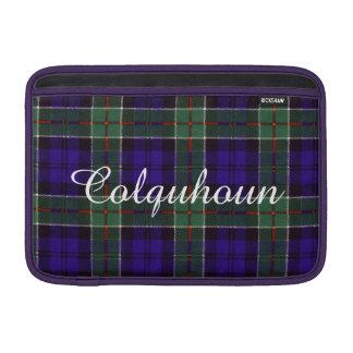 Colquhoun clan Plaid Scottish tartan MacBook Air Sleeves