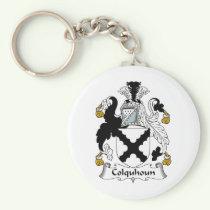 Colquhoun Family Crest Keychain