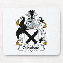 Colquhoun Family Crest Mousepad