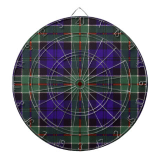 Colquhoun Scottish Tartan Dartboard With Darts