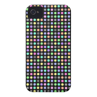 COLRFUL DOTS Case-Mate iPhone 4 Barely There Unive