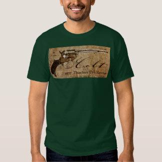 Colt 1877 Thunderer DA Revolver Design T-Shirt
