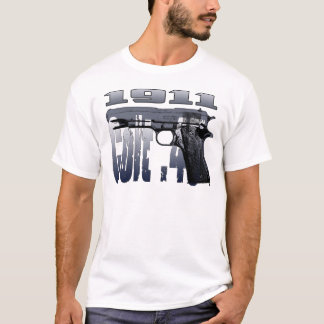 Colt 1911 .45 Caliber Semi-Automatic Design T-Shirt