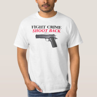 COLT 1911 FIGHT CRIME T-Shirt