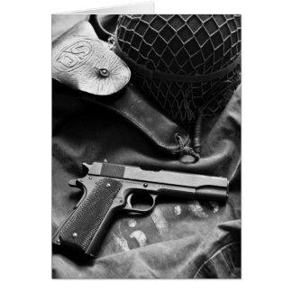 Colt 1911A1 World War Two Card