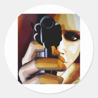 Colt by Cebarre Classic Round Sticker