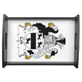 Colt Family Crest Serving Tray