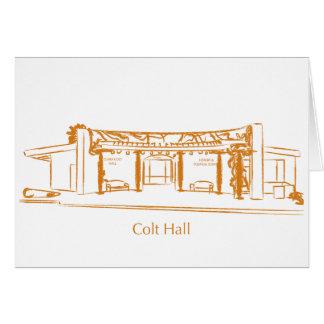 Colt Hall Card