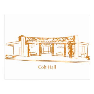 Colt Hall Postcard