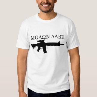 Colt M4A3 - MOLON LABE T-shirts