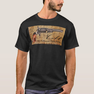 Colt Model 1855 Sidehammer Pocket Revolver Design T-Shirt