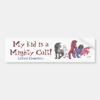 Colt Pride Bumper Sticker