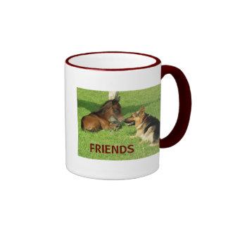 COLT & SHEPHERD FRIENDS MUG