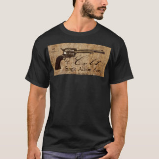 Colt Single Action Army .45 Caliber Design T-Shirt