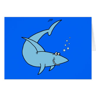 Colter's Shark Greeting Card