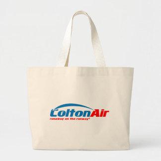 Colton Air: Runaway on the Runway Jumbo Tote Bag