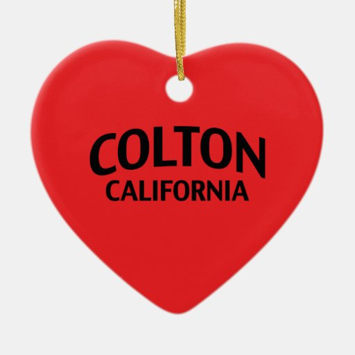 Colton California Adorno De Navidad