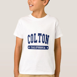 Colton California College Style tee shirts