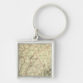 Colton s Driving and Wheeling Map of the US 2 Key Chains