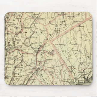 Colton's Driving and Wheeling Map of the US 2 Mouse Pad