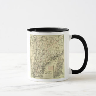 Colton's Driving and Wheeling Map of the US 2 Mug