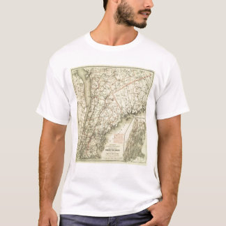 Colton's Driving and Wheeling Map of the US 2 T-Shirt