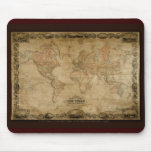 COLTONS old world map c1847 Mouse Mats