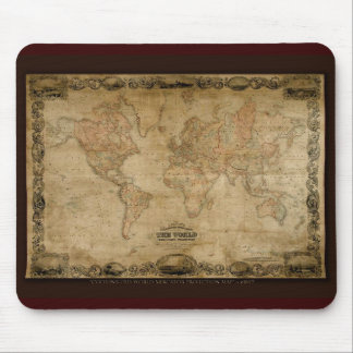 COLTONS old world map c1847 Mouse Pad