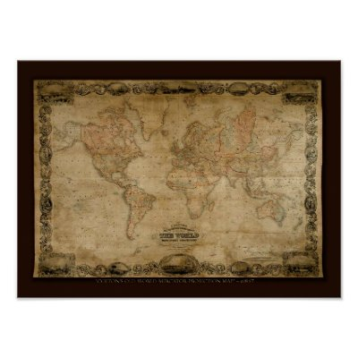 Old map prints and old map murals | archival maps; About old world maps