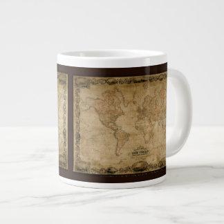 Colton's Old World Map Jumbo Soup Mug