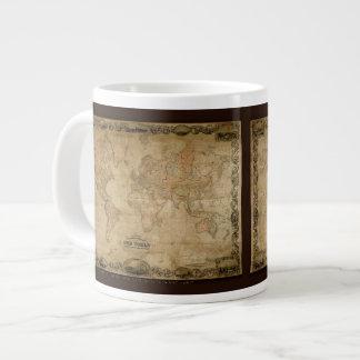 Colton's Old World Map Jumbo Soup Mug Extra Large Mug