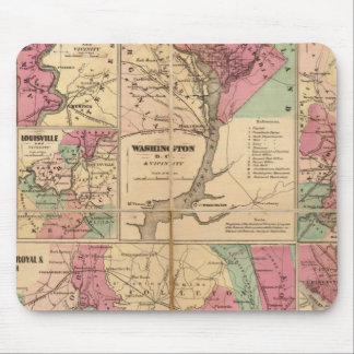 Colton's Plans of US Harbors Mouse Pad
