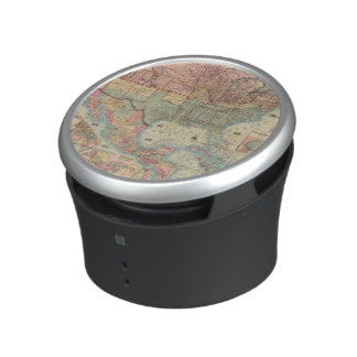 Colton's Railroad And Military Map Bluetooth Speaker