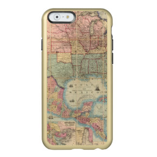 Colton's Railroad And Military Map Incipio Feather® Shine iPhone 6 Case