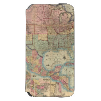 Colton's Railroad And Military Map iPhone 6/6s Wallet Case