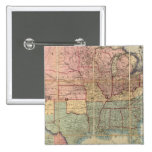 Colton's Railroad And Military Map Pinback Button