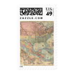 Colton's Railroad And Military Map Postage