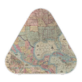 Colton's Railroad And Military Map Speaker