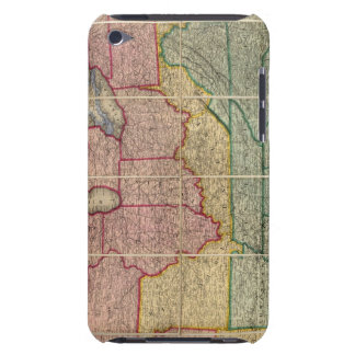 Colton's Railroadand County Map, United States iPod Touch Case