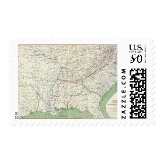 Colton's US section Postage