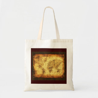 Coltons Vintage Old World Map Tote Bag