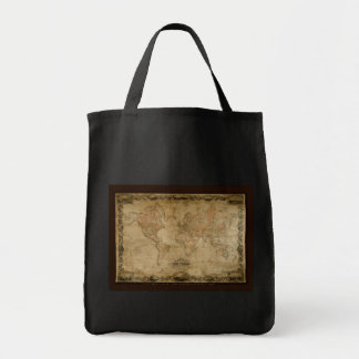Coltons Vintage World Map Carry Bag