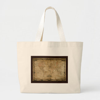Coltons Vintage World Map Tote Bag
